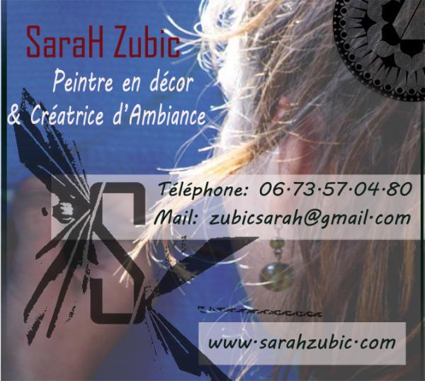 SaraH Zubic - de la couleur pour vos idées